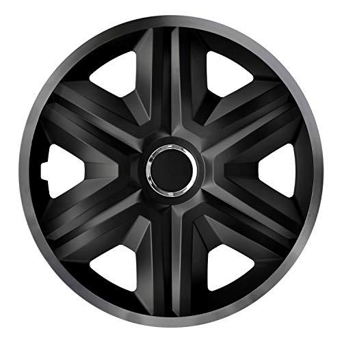 NRM Fast Lux 4X - Copricerchi universali per Auto, 4 Pezz