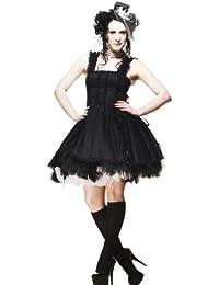 Hell Bunny - Robe -  Femme Noir Black-Black x-large