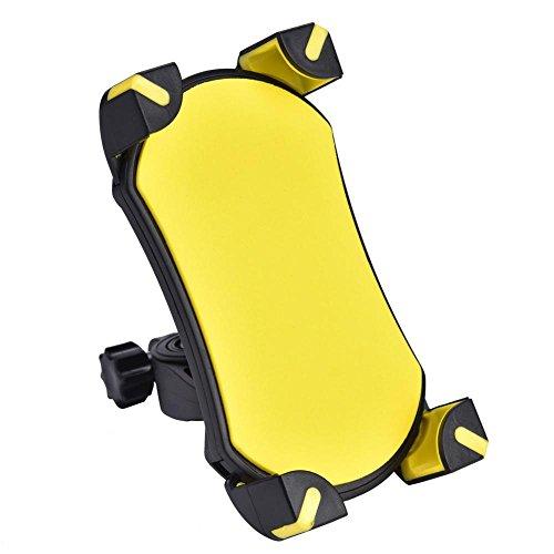 Tbest Soporte Universal para Manillar de Bicicleta 3,5-6,5 Pulgadas para iOS, Smartphones...