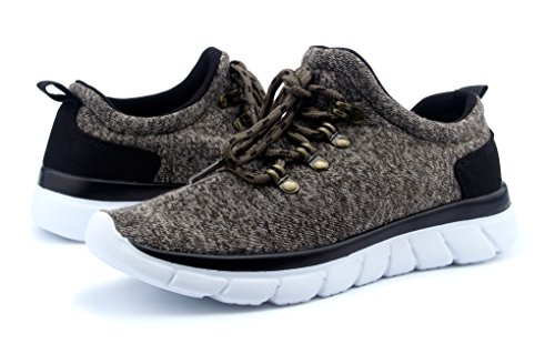 Santiro Donna Scarpe da Ginnastica Basse Sportive Outdoor Sneakers. cachi