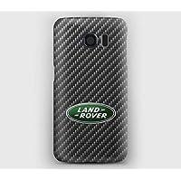 carbon et land rover Cover Samsung S6, S7, S8, S9, A3, A5, A7, J3, J5, Note,