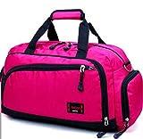 UUkenghei Borse da donna Borse da viaggio a breve distanza Borse a tracolla a tamburo 4 colori disponibili Pink
