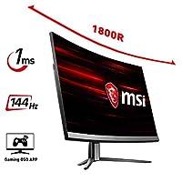 27 MSI OPTIX MAG271C FullHD, 144HZ 1MS HDMI+DP SIYAH CURVED GAMING MONITOR