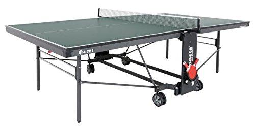 Sponeta Tischtennisplatte S 4-72 i Grün Indoor Untergestell schwarzgrau