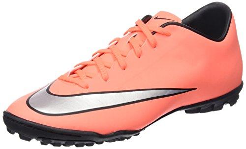 Nike Mercurial Victory V Tf Scarpe da calcio allenamento, Uomo, Multicolore  (Brght Mng / Mtllc Slvr-Hypr Trq), 42.5 EU