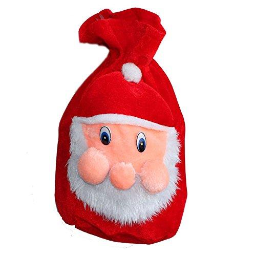 LD Weihnachten Deko Damen Herren Weihnachtsmann Kostüm Weihnachten Santa kinder Outfit Christmas Bag Tasche Xmas Bag