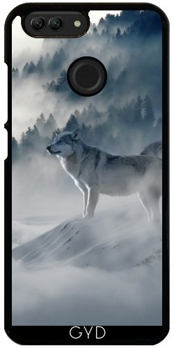 Hülle für Huawei Nova 2 - Wolf Tier Wildtier Niedlich by Grab My ()
