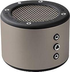 Minirig 3 tragbarer Bluetooth-Lautsprecher, wiederaufladbar, 100 Stunden Akku, lauter HiFi-Sound, Silber/Grau