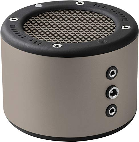 MINIRIG 3 Haut-parleurs Portables Bluetooth Rechargeables avec 100Heures de Batterie et Son Hi-FI Puissant - Argent/Gris
