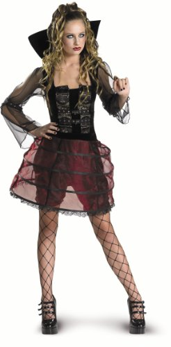 CesarC452-001 Mädchen-Kostüm-Vampirin