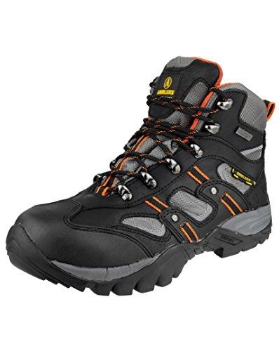 Amblers Safety, Chaussures De Sécurité Pour Homme Black (noir)