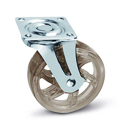 Möbelrolle Shift braun Ø 75 mm ohne Bremse