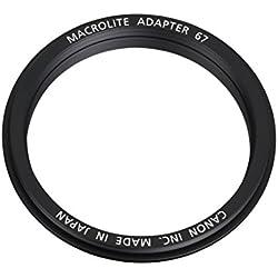 Canon 3563B001 Adaptateur Flash Macro 67 pour Appareil photo MR14EX / MT24 EX