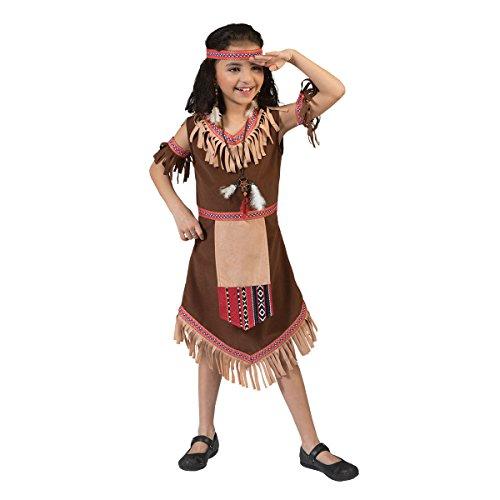 Kostümplanet® Indianerin-Kostüm Größe 152