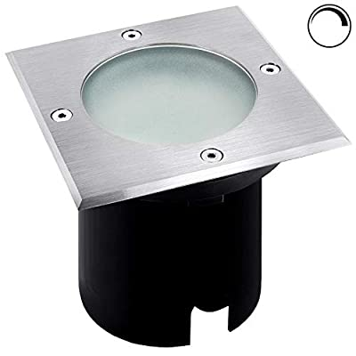 LED Bodeneinbaustrahler GU10 rund und eckig