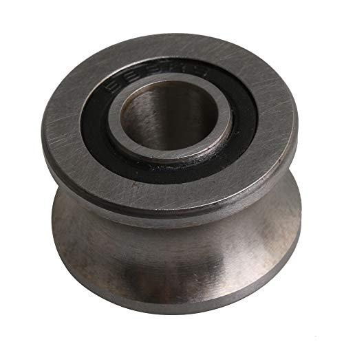 22.5x13.5mm 8mm ID Silber 440C Edelstahl U Typ Nut Kugellager Riemenscheibe Tür Draht Track Zubehör