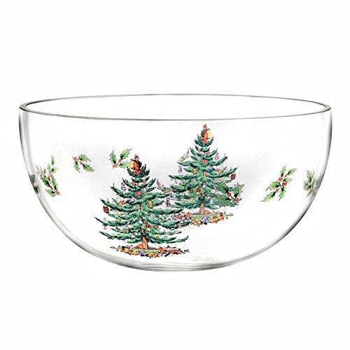 Spode Christmas Tree Glass Bowl by Spode Spode Christmas Tree Glass