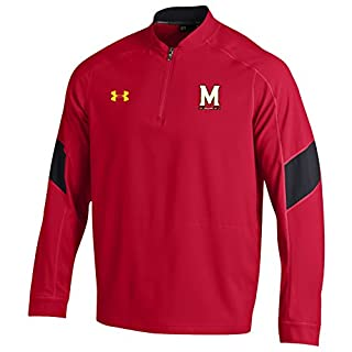 Under Armour NCAA Maryland Terrapins Men's Sideline Mastermind Lightweight Cage Jacket, XX-Large, Red