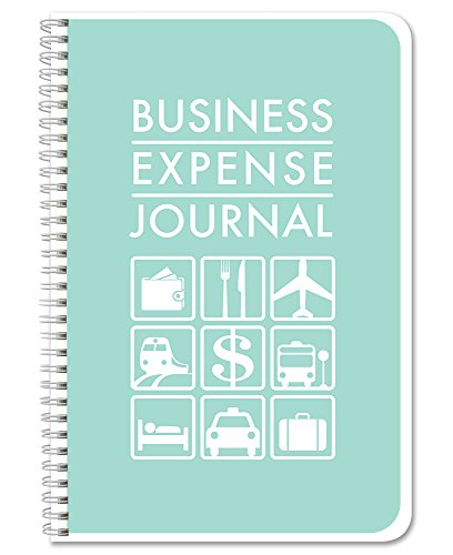 BookFactory Business Kosten Tagebuch/Kosten Ledger Book/Logbuch 110Seiten 15,2x 22,9cm Wire-O-(bus-110-69CW (businessexpense)) Bus Wire