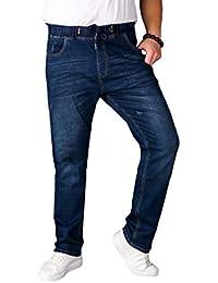 671ae5f4955e Mxssi Nouveau Hommes Jeans Jogging Jeans Élastique Déchiré Pantalon Super  Stretch Jeans Distressed Jeans Pantalon Taille