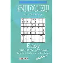 Sudoku Puzzle - Easy - Vol 3 - My Favorite Puzzle Book: Volume 12 (My Favorite Puzzle Book - Sudoku)
