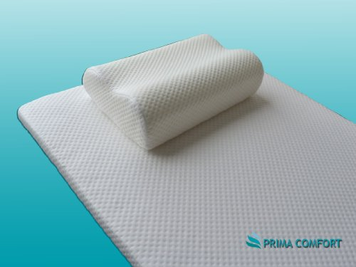 Prima Comfort Range- Memory Foam Travel Mattress and pillow- The Hamilton - 7 DAY MONEY BACK GUARANTEE!! (3.5cm depth mattress with Standard cover and holdall bag)