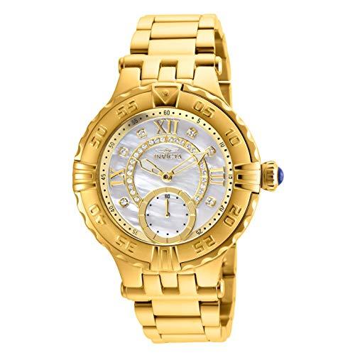Invicta Women's Subaqua Gold-Tone Steel Bracelet & Case Quartz Watch 26138