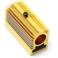 Desconocido Generic Aluminio Radiador Disipador 20x 27x 50mm para 12mm Laser Módulo Golden