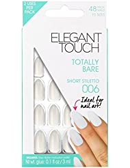 Elegant Touch Totally Bare Ongles Short Stiletto 006 24 Pièces