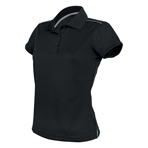 Kariban Proact Polo Sport - Femme Noir