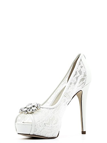 Guess FLHOT1 LAC07 Decollete' Donna Bianco