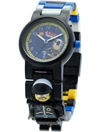 LEGO Unisex-Armbanduhr Movie Bad Cop Analog Quarz Plastik 8020226