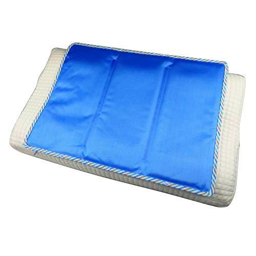 Almohada de Gel refrescante | Funda de Almohada | Almohadilla térmica de Gel Frio de enfriamiento | Funda de Almohada termorreguladora 30 x 40 cm