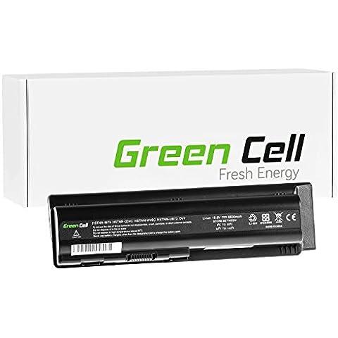 Green Cell® Extended Serie Batería para HP Compaq Presario CQ61-335ES Ordenador (9 Celdas 6600mAh 10.8V Negro)