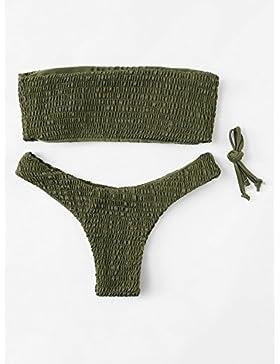Tendencia_Trend traje de baño traje de baño los más duros traje de baño moderno y cómodo bikini, ejército serie...