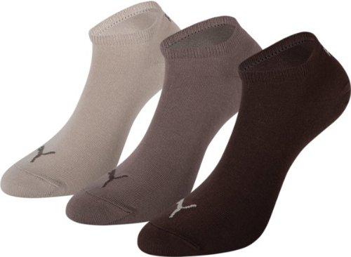 PUMA Unisex Sneakers Socken Sportsocken 9er Pack, 9Paar = chocolate/walnuss/safari, 35/38