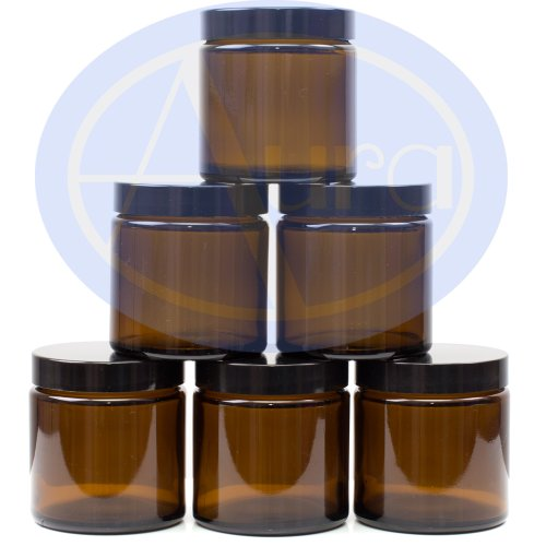pack-of-6-120ml-amber-glass-jars-with-black-lids-for-essential-oil-aromatherapy-use