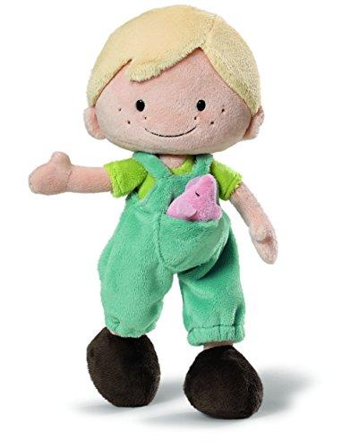 Nici 37889 - Wonderland Puppe Minilucas Schlenker, Plüsch, 30 cm