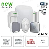 Ajax - AJAX Kit di Allarme Professionale Wireless HUB Kit Siren - AJ-HUBKITSIR-W