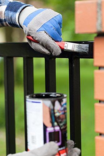 10L Eisenglimmerfarbe Anthrazitgrau Glitzernd für Innen und Aussen Schuppenpanzerfarbe Korrosionsschutz Farbe und Lack Rostschutzfarbe Metall Farbe Metallschutzlack