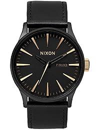 Nixon Herren-Armbanduhr Analog Leder A1051041-00