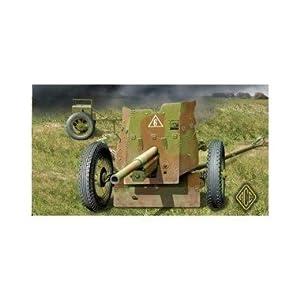 ACE Modelo Canon 45mm antitanque Modelo Rusa EN 1937 WW2
