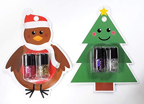 Technic Pack 12 x Nagellack Weihnachtshaus Novelty - Nail Duo