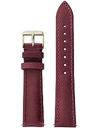 cluse Accessoires Unisexe bracelets en cuir Cuir Bohème Strap Marsala/or rouge cls027
