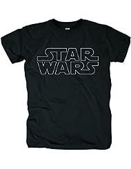 Bravado Star Wars - Logo Outlined, T-Shirt - Homme