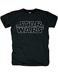 Bravado Star Wars - Logo Outlined, T-Shirt - Homme