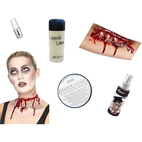 Zombie Scary Halloween Ultimate-Kit da 6 utensili con