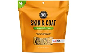 BIXBI Skin & Coat Dog Jerky Treats