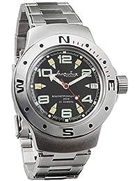 Vostok Amphibian 060334 Ruso Militar reloj 2416b 200 ...
