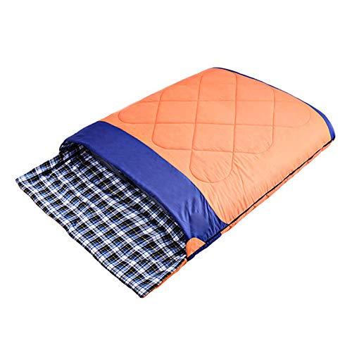 KSITH Doppelschlafsack, Mit Leichtem Und Wasserdichtem 4-Jahreszeiten-Universalschlafsack Für Camping Im Freien